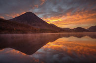 SUNRISE REFLECTIONS (Crummock Water)