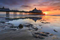SUNRISE REFLECTIONS  (Eastbourne Pier)