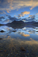 SUNRISE REFLECTIONS (Loch Leven)