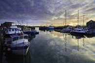 SUNRISE REFLECTIONS (PADSTOW)