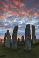 SUNRISE AT CALLANISH STONE CIRCLE