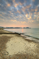 SUNRISE AT CLACTON-ON-SEA