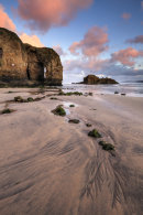SUNRISE AT PERRANPORTH ARCH