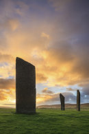 SUNRISE AT STONES AT STENNESS