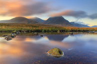 SUNRISE RELFECTIONS (River Etive)