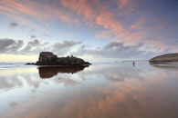 SUNSET REFLECTIONS (Perranporth)