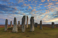 SUNSET AT CALLANISH STONE CIRCLE