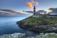 SUNSET AT EILEAN GLAS LIGHTHOUSE (Scalpay)