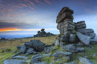 SUNSET AT GREAT STAPLE TOR