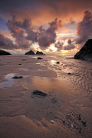 SUNSET AT HOLYWELL
