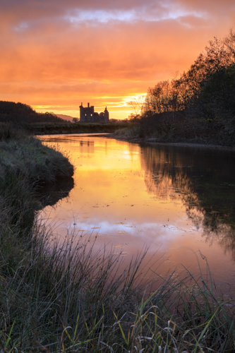 SUNSET AT KILCHURN CASTLE
