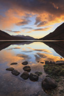 SUNSET AT LOCH ETIVE
