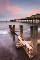 SUNSET AT TEIGNMOUTH PIER