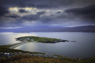 SUNSET OVER LOCH ERIBOLL