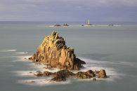 THE ARMED KNIGHT AND LONGSHIPS LIGHTHOUSE (Land's End)