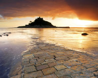 PLACEMAT The Causeway (St Michael's Mount)