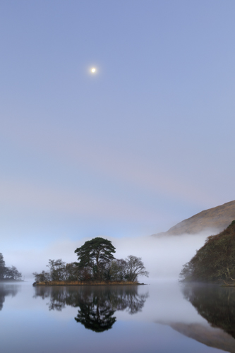 THE MOON OVER LOCH AWE