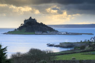 TOWARDS THE SETTING SUN (St Michael's Mount)