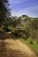 TRACK TO CARREG CENNEN CASTLE