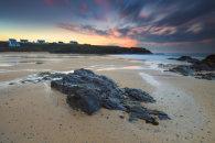 TREYARNON BEACH AT SUNSET
