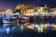 TWILIGHT REFLECTIONS (Padstow)