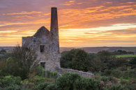 WHEAL PEEVOR SUNSET