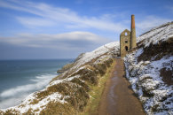 WINTER AT WHEAL COATES