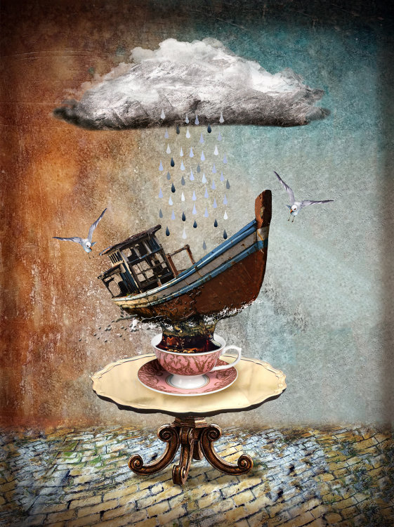 'Storm in a Tea Cup'