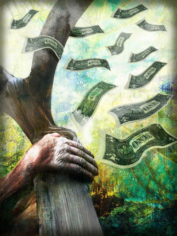 'Money Makes the World go Down'