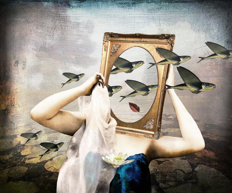 'Frame of Mind' Postcard