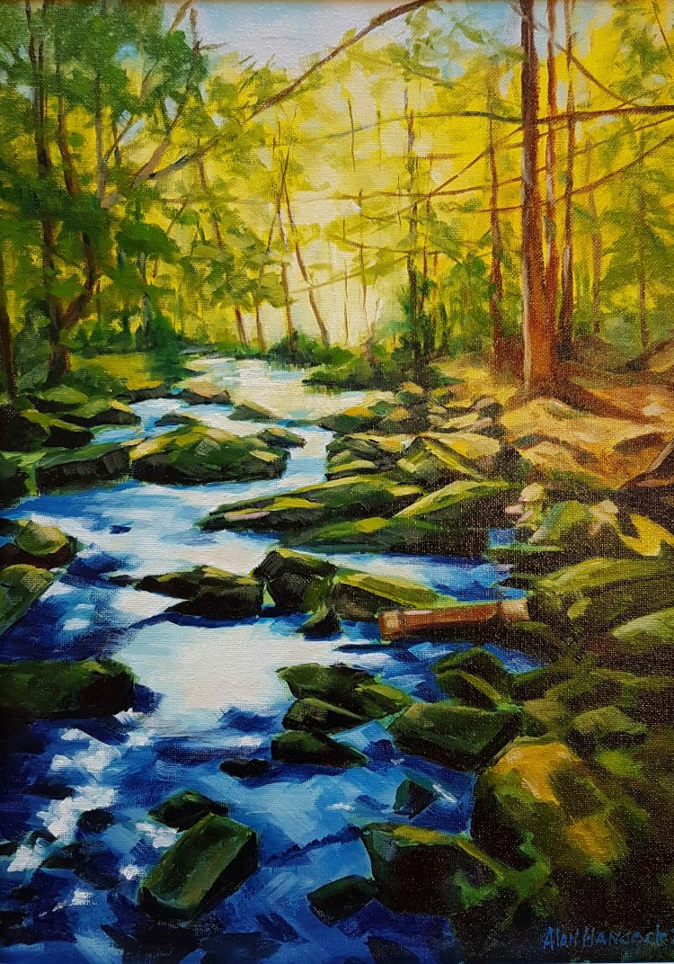 BABBLING BROOK (SOLD)