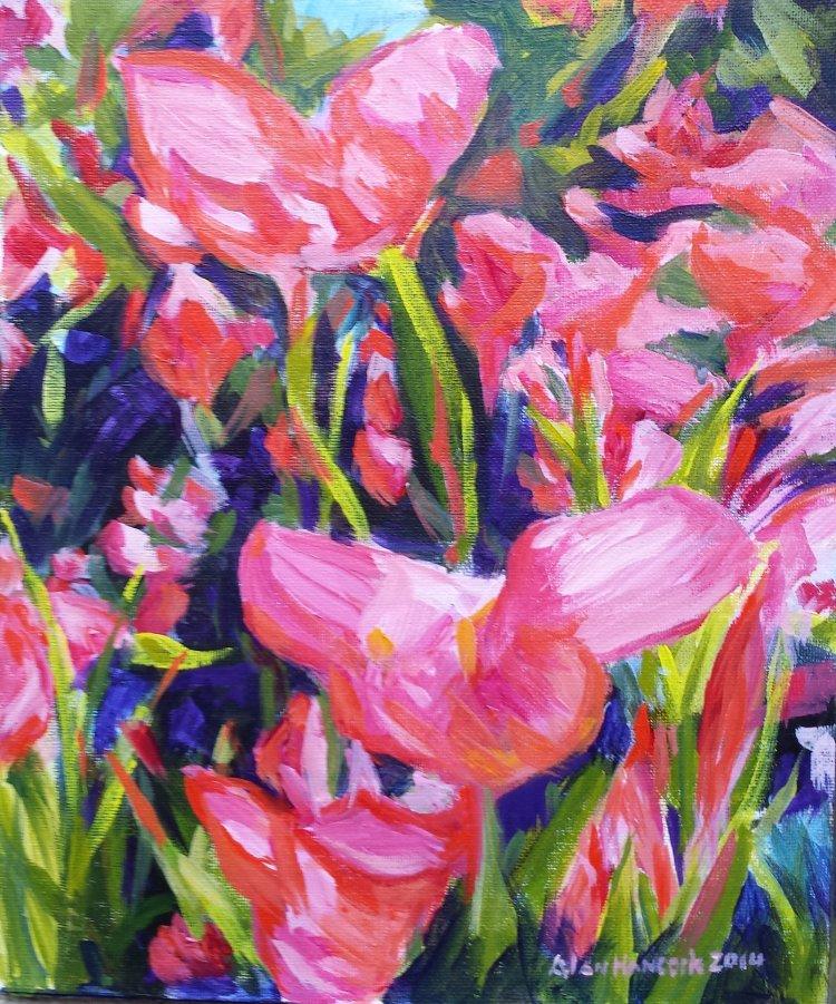 Garden Pinks (SOLD)