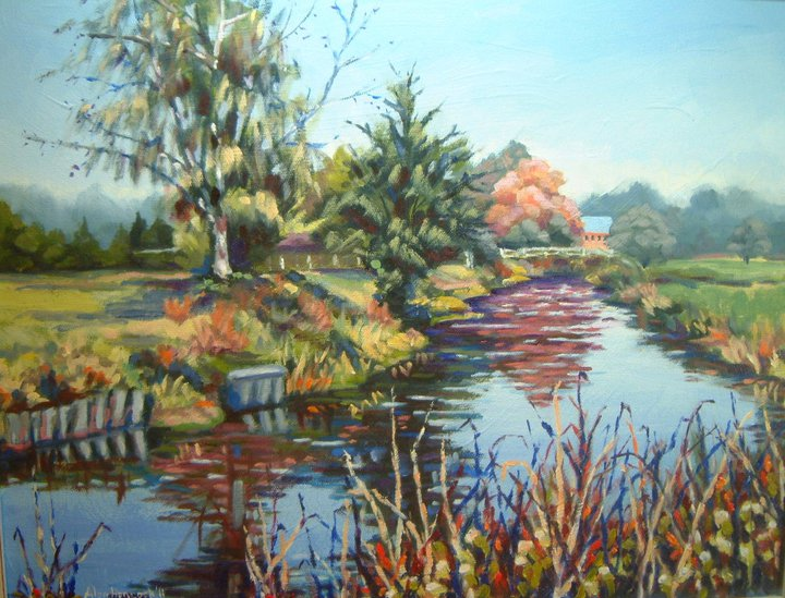 Summer on the Itchen (SOLD)