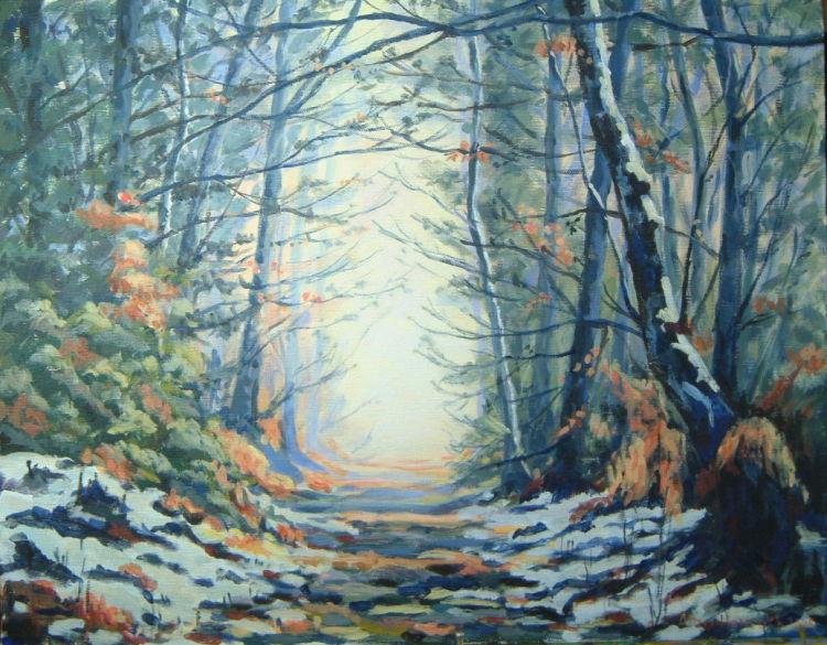 Winter Woodland (SOLD)