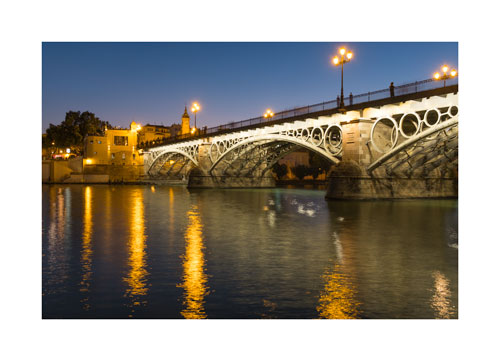 Isobel II bridge, Seville, Spain.