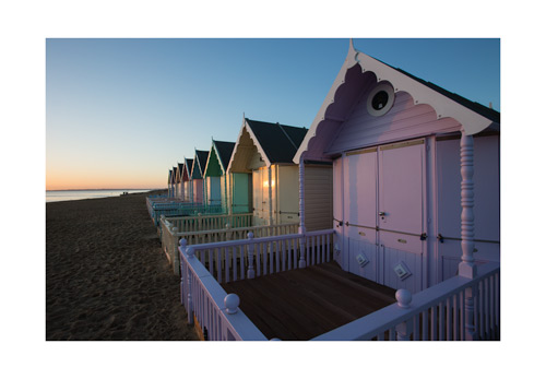 Mersea beach huts