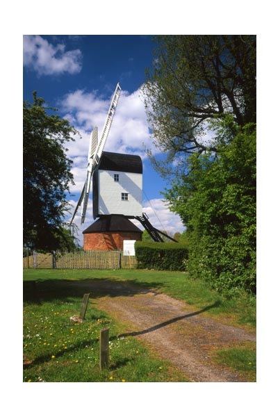 MountNessing post mill.