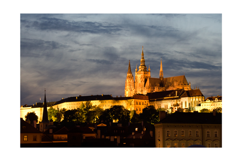 Prague castle and cathedral
