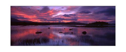Sunrise over Loch Ba.