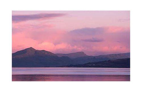 Sunrise on the Isle of Skye.