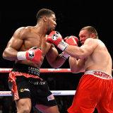 Heavyweight Boxer Anthony Joshua MBE 1
