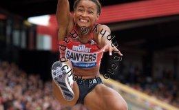 Jazmin Sawyers of Great Britain