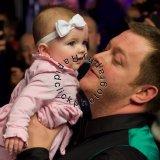 Mark Allen with daughter