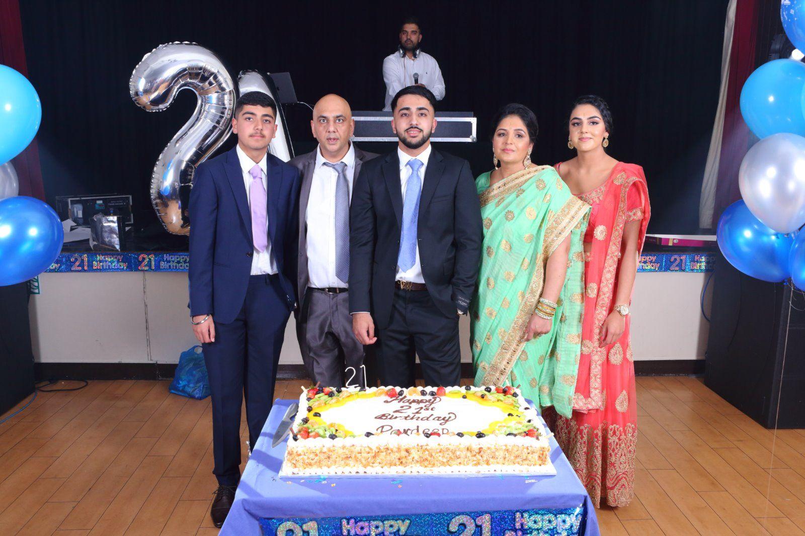 Party Pardeep's 21st Birthday
