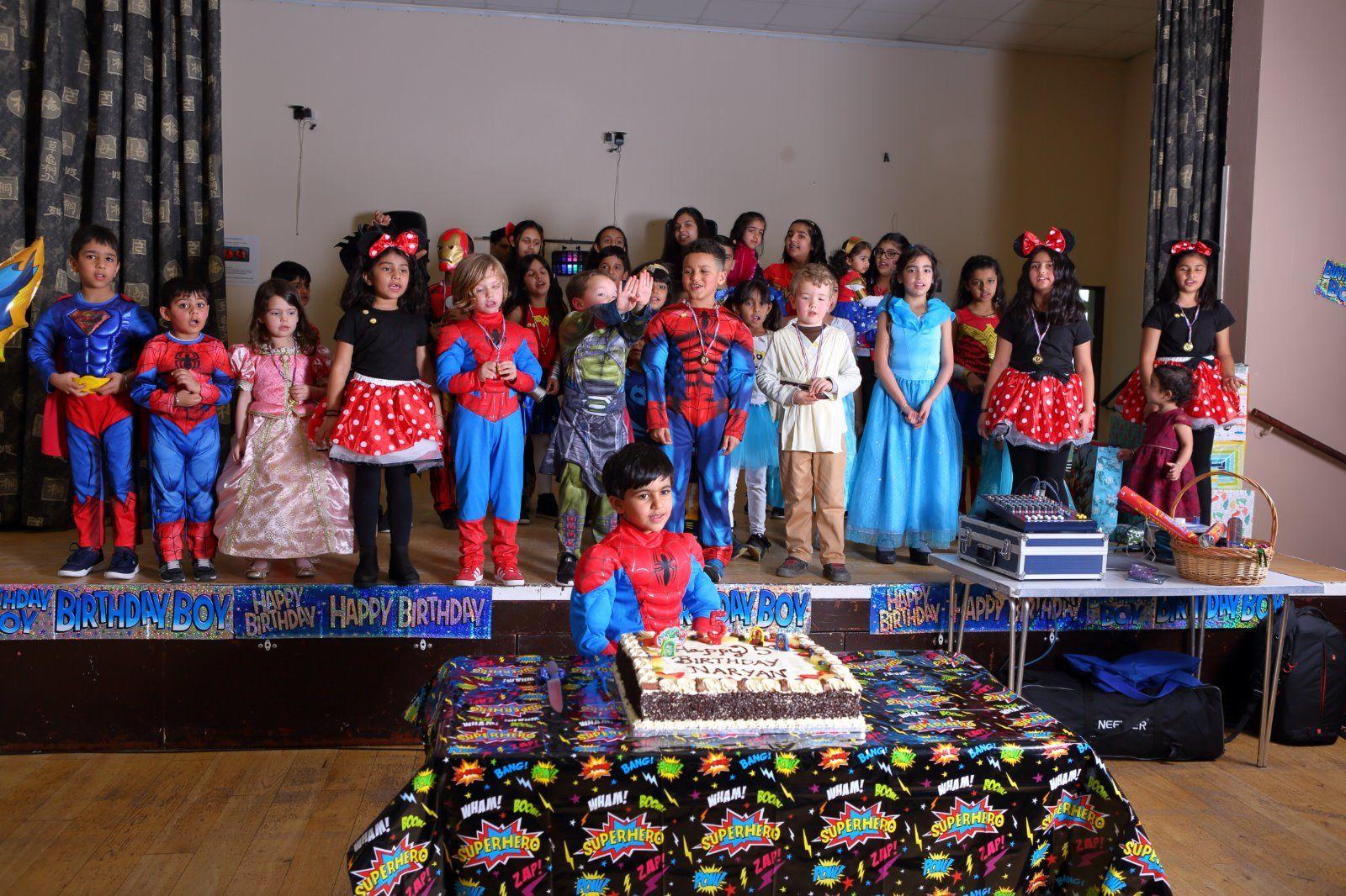Party Naryan's 5th Birthday
