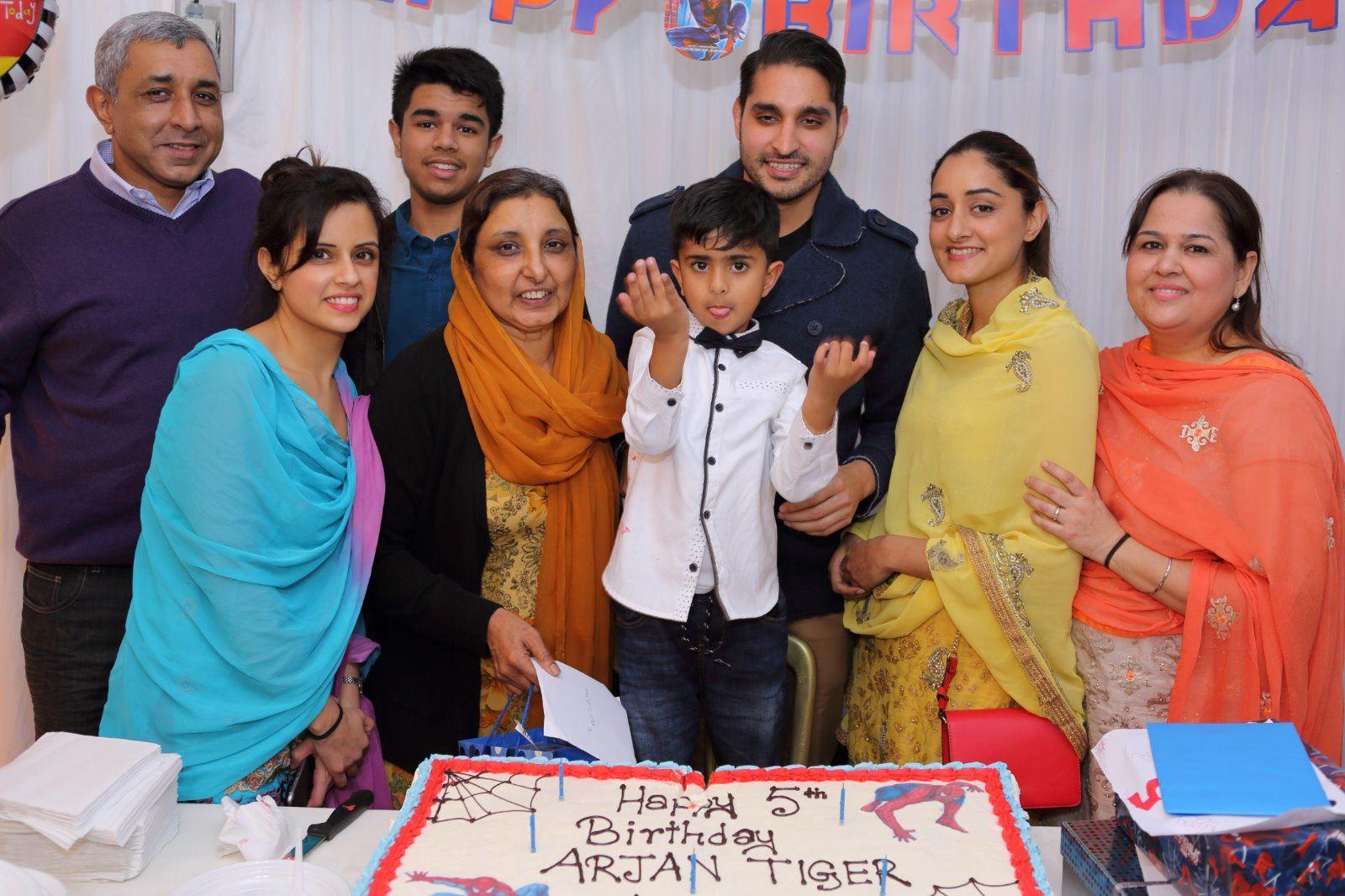 Party Arjun's 5th Birthday