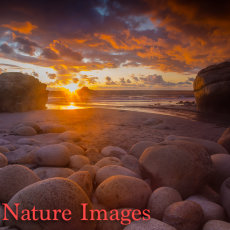 """ Porth Nanven Sunset,Cornwall"