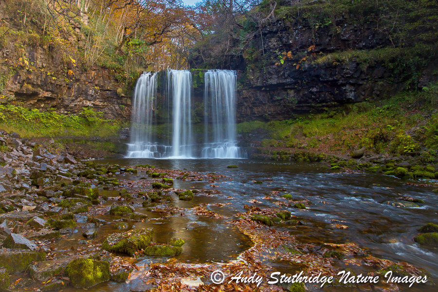 Sgwd Yr Eira Waterfall,Wales