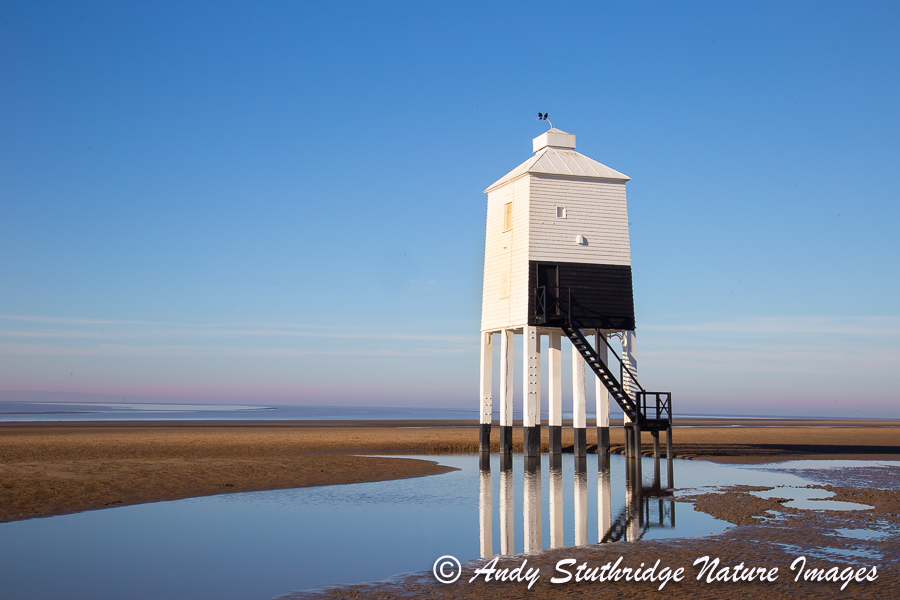 The Old Wooden Lighthouse,Burnham on Sea,Somerset