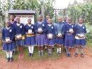 Animalian & pupils at Lenana Girls School Kenya 2013